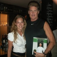 David Hasselhoff bei Plachutta