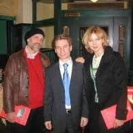 John Malkovic und Veronika Ferres bei Plachutta