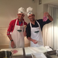 Mike and Bob Bryan Brothers bei Plachutta